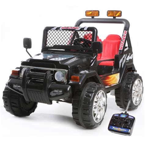 little jeep for kids 12v two seater black ride on kids electric jeep 163 169 99