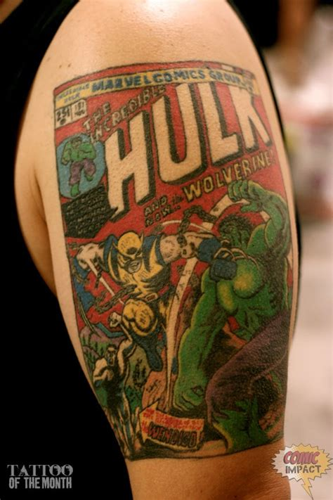 superhero tattoos great aaron tattoos