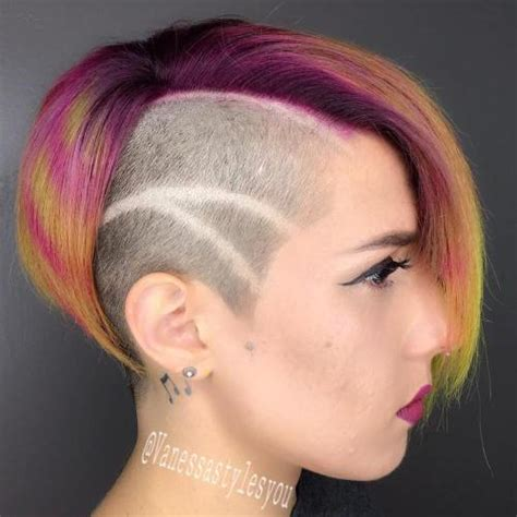 haircut bob undershave 35 short punk hairstyles to rock your fantasy