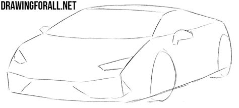 how to draw a jaguar car drawingforall net how to draw a sports car step by step drawingforall net