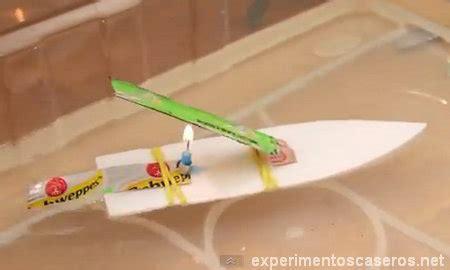 barco a vapor explicacion lancha pop pop casera experimentos caseros