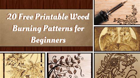 printable wood burning patterns  beginners