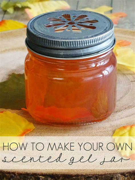 How To Make Scented L by How To Make Your Own Scented Gel Jar Living La Vida Holoka