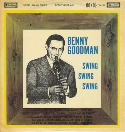 swing benny goodman benny goodman swing swing swing uk vinyl lp record cdn 148