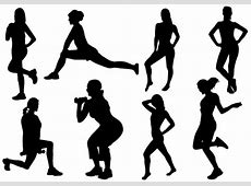 clipart of woman working out - Clipground Exercise Clip Art Free To Copy