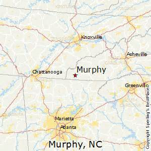 murphy carolina map best places to live in murphy carolina