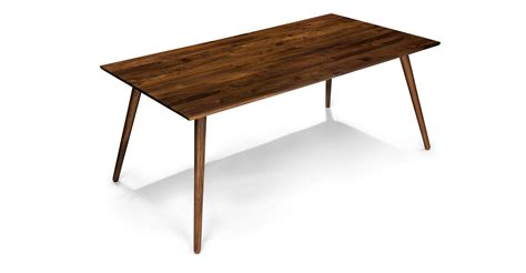 seno walnut dining table for 6 dining tables article modern mid century and scandinavian