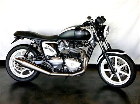 Motorrad Umbau Auf Zahnriemen by Umgebautes Motorrad Triumph Bonneville Se Sbf Triumph
