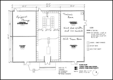 locker room floor plans high school athletic training room floor plan galleryhip