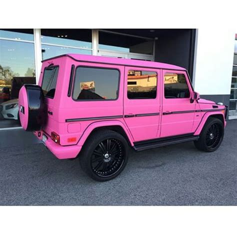 Luxury Mercedes Pink Truck Image 3336472 By