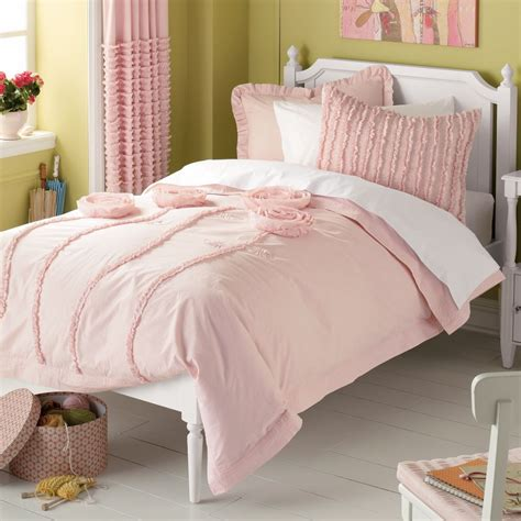 Pink Comforter by S Up S Room Green Pink Style