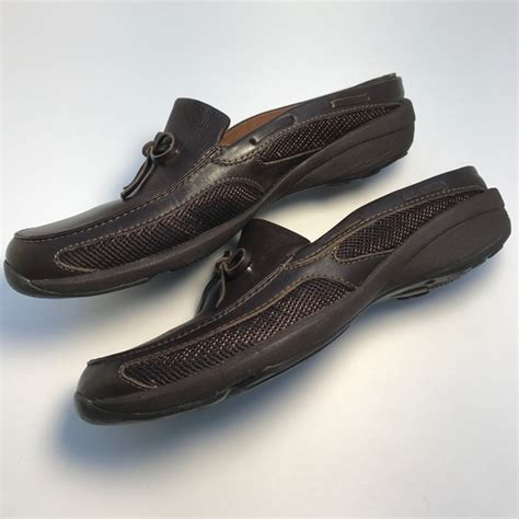 liz sport shoes liz claiborne liz sport leather flats size 7 1 2 from