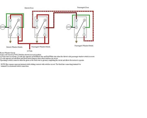 toyota power window switch wiring diagram colors toyota