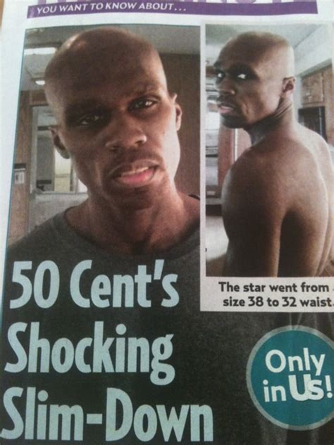 50 cent s shocking slim down thisis50 com