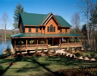 home design elements llc log home traditional exterior other by home design