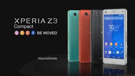 Sarung Hp Sony Xperia Z3 bon plan le sony xperia z3 compact est 224 360 euros frandroid