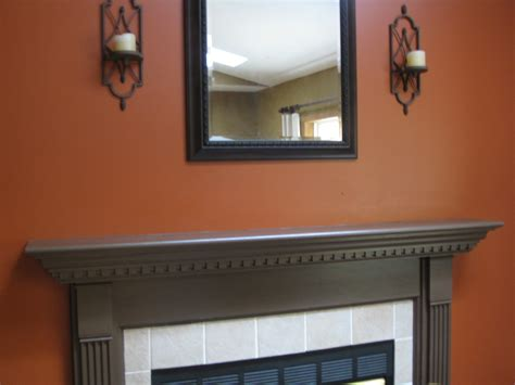 colored wall autumn mantel and exterior seasonal decor jenna burger