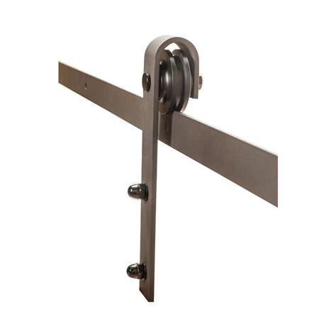 rolling barn door hardware kit american pro decor espresso solid steel sliding rolling