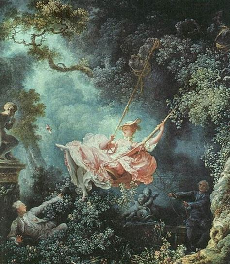 rococo painting the swing let s go rococo a decorative affair