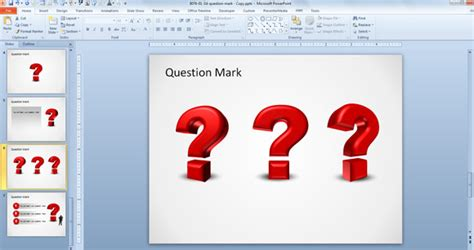 how to create a 3d question in powerpoint 2010
