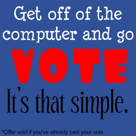 go vote images attention registered u s voters go vote get the