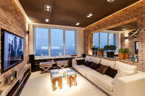 New York Interior Design Stylish Laconic And Functional New York Loft Style