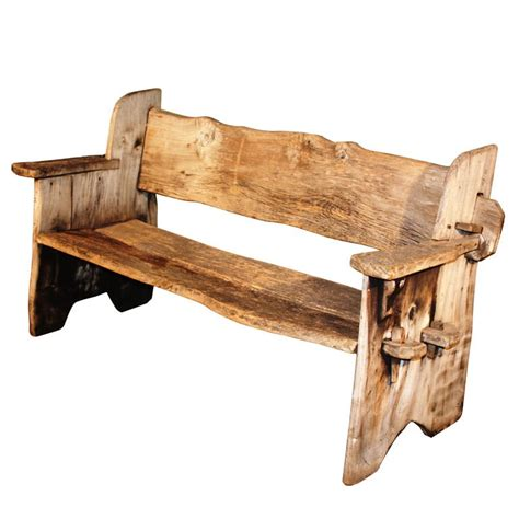 rustic outdoor bench with back rustic wood bench crowdbuild for