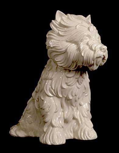 jeff koons puppy vase jeff koons puppy vase in the form of west highland terrier 1998 mint vase the o