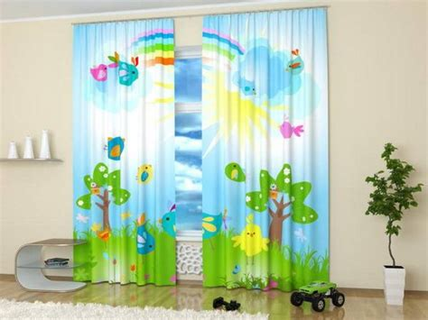 children s room curtain ideas custom photo curtains adding digital prints to kids room