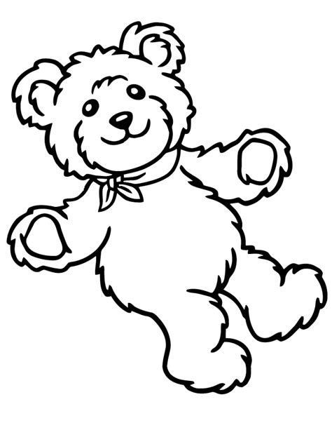 cute teddy bear coloring pages coloring home