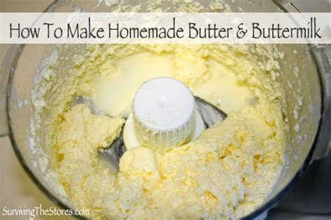how to make homemade butter recipe dishmaps
