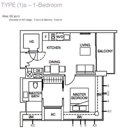 one balmoral floor plan one balmoral floorplan 1 bedroom new launch condo