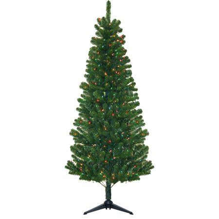 morrison xmas trees pre lit 7 morrison artificial tree 300 multi lights walmart
