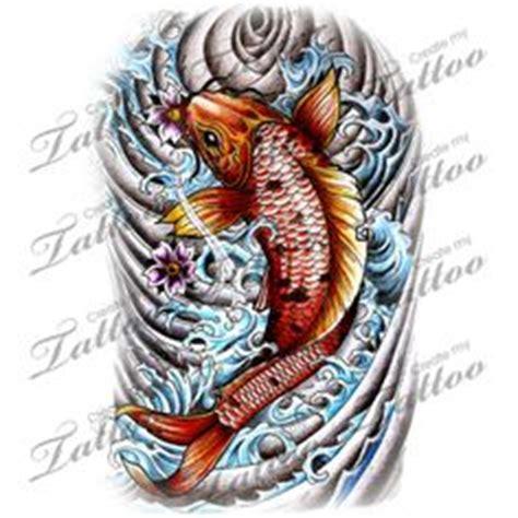 red koi tattoo vaughan red black gold japanese koi fish tattoo