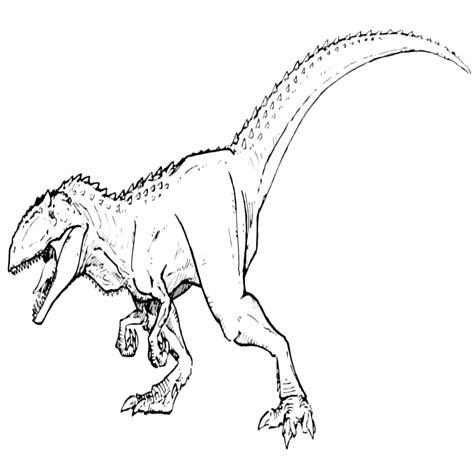disegni di t rex da colorare