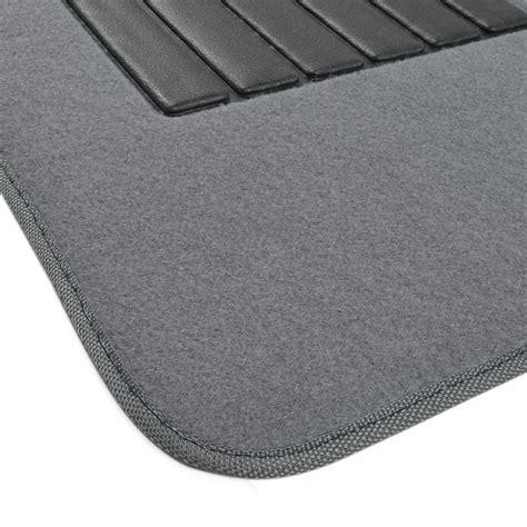 Car Floor Mat Heel Pad by Car Floor Mats For Sedan Suv 4 Carpet Liner Vinyl
