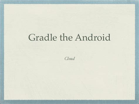 gradle android deprecated gradle the android