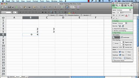 tutorial excel mac 2008 excel 2008 for mac basic formulas and autosum youtube