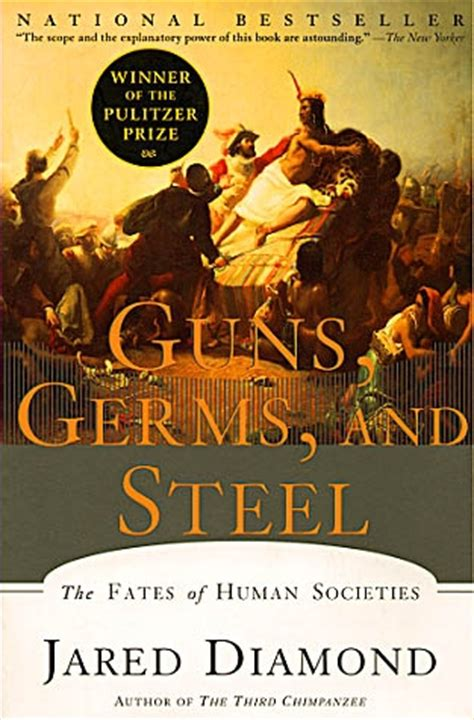 guns germs and steel 0393061310 book review jared diamond guns germs and steel
