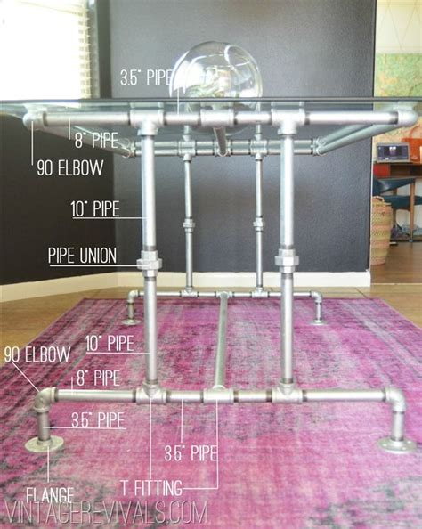 how to make a pipe desk how to build a out of conduit pipe awesome