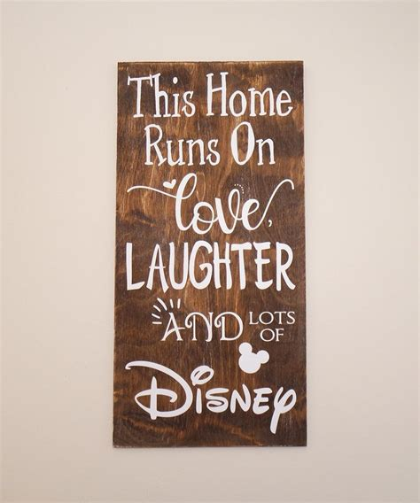 Disney Decorated Homes by Best 25 Disney Sign Ideas On Disney Sayings Disney Quotes And Disney