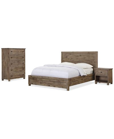 logan bedroom furniture sets pieces furniture macy s canyon bedroom furniture 3 piece bedroom set only at