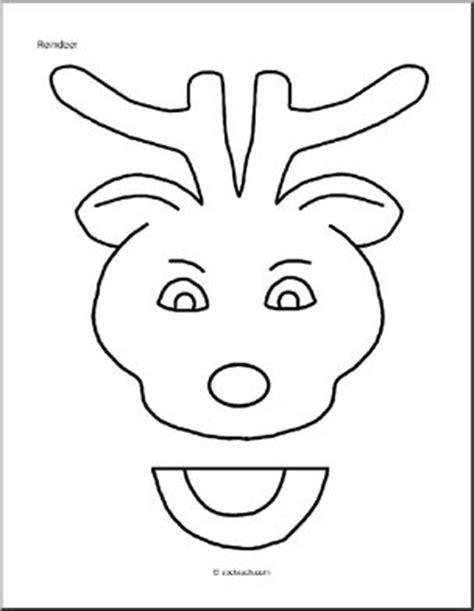 paper bag puppet christmas reindeer abcteach