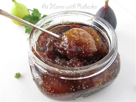 canning fig preserves at home with rebecka