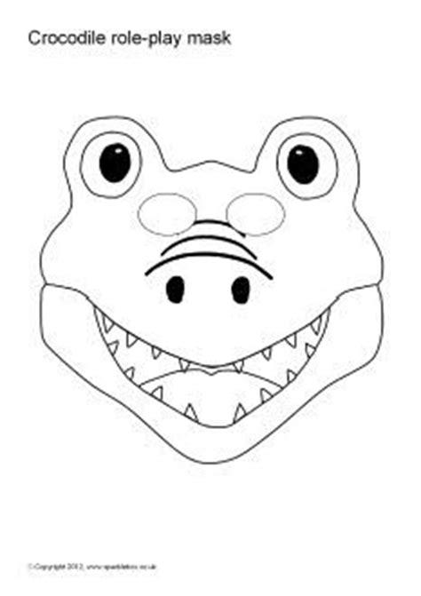 crocodile mask template paper plate crocodile mask search preschool