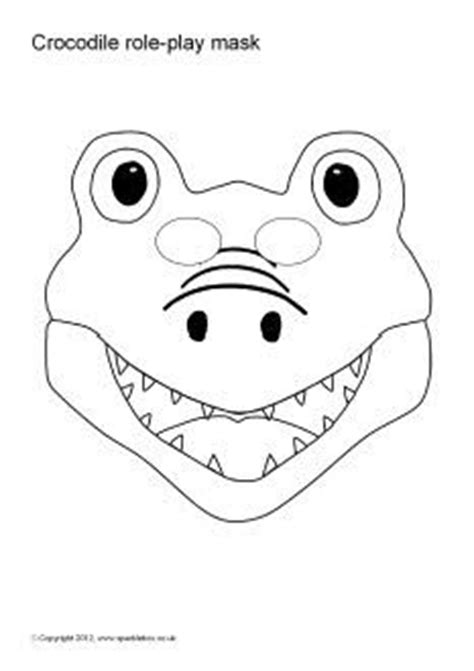 printable lizard mask template 1000 images about thema krokodillen on pinterest