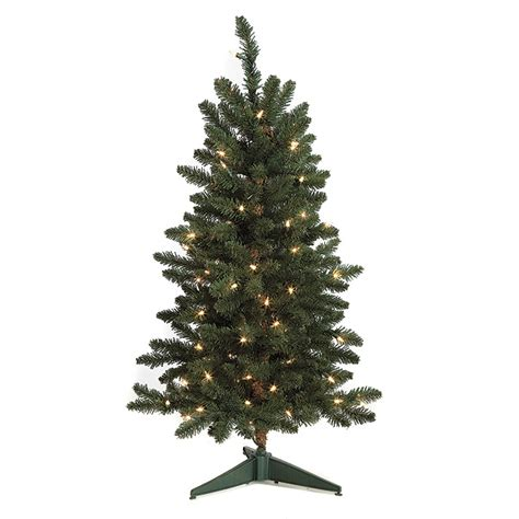 3 foot fir christmas tree clear lights c 70611