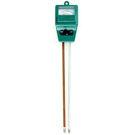 moisture ph meters soil moisture and ph meter was sold