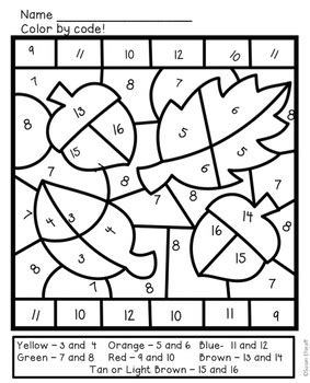autumn math coloring pages math coloring sheets for fall addition and subtraction