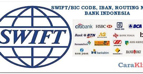 bca ubud swift code 7 angka bank mandiri bri bca bni dan 100 bank indonesia